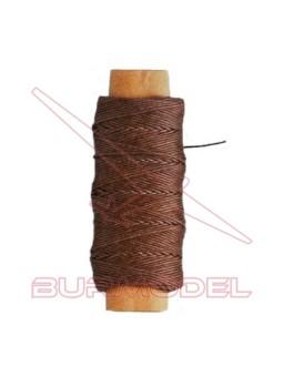 Hilo marrón de algodón 0.25 mm (30m)