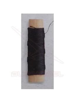 Hilo negro de algodón 0.15 mm (40 m)