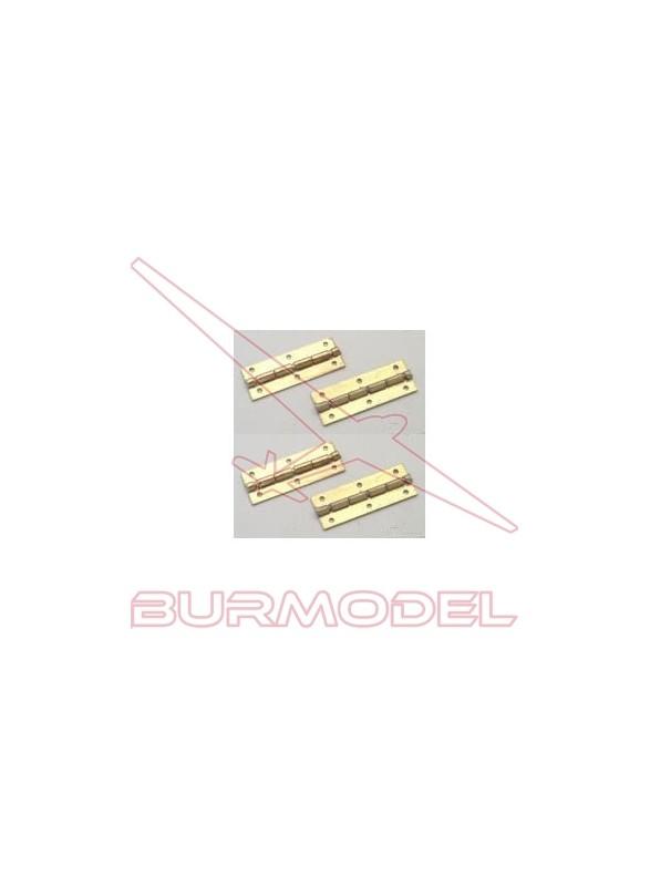Bisagras 10x25 mm (4 unidades)