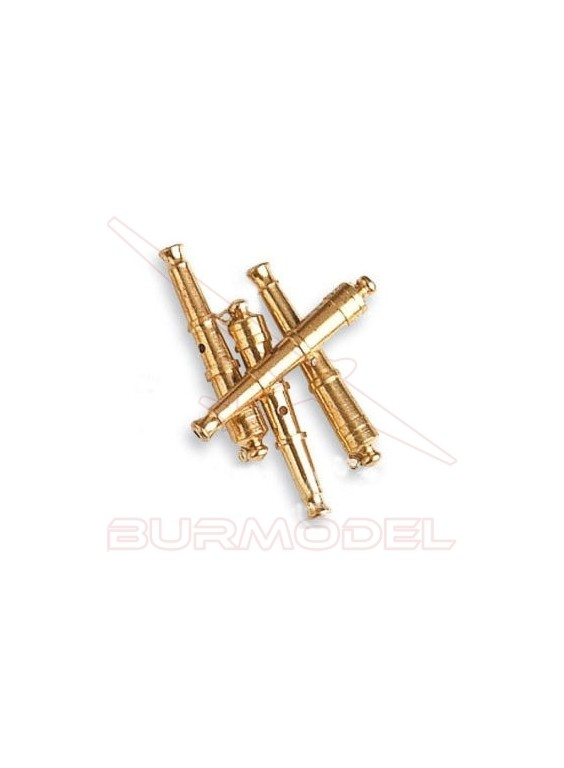 Cañón con anillas 30 mm (4 unidades)