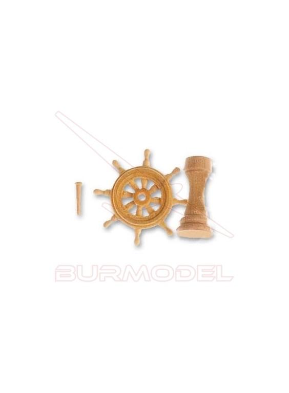 Conjunto rueda timón 30 mm