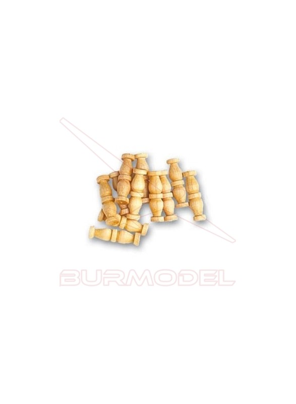 Doble columna de boj 12 mm (15 unidades)