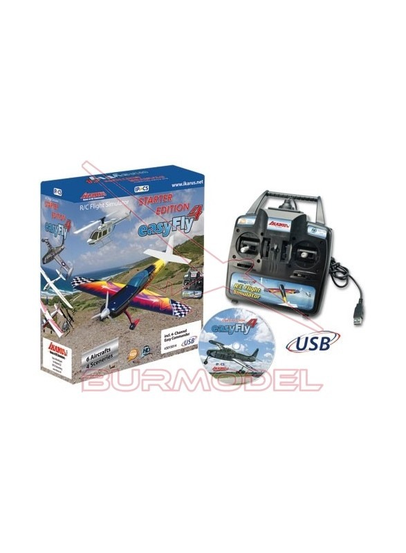 Simulador de vuelo Easyfly 4 StarterSet
