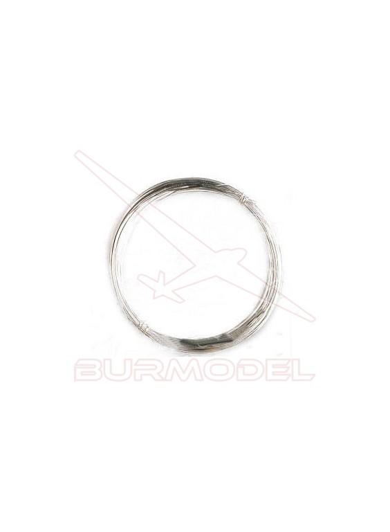 Hilo galvanizado 0.25 mm (5 m)