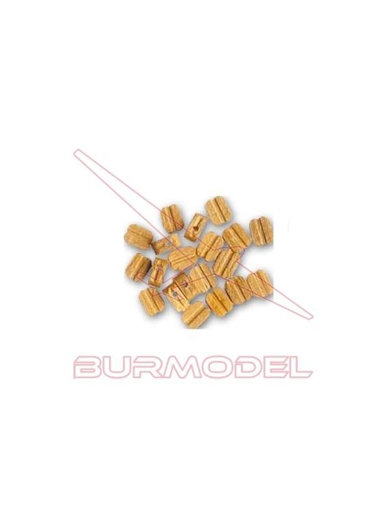 Motón boj 4mm (20 unidades)