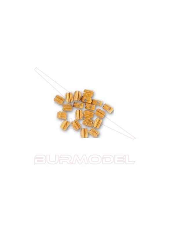 Motón de Boj 3 mm (20 unidades)