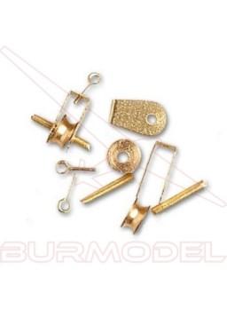 Pasteca poles 4.5 mm (4 unidades)
