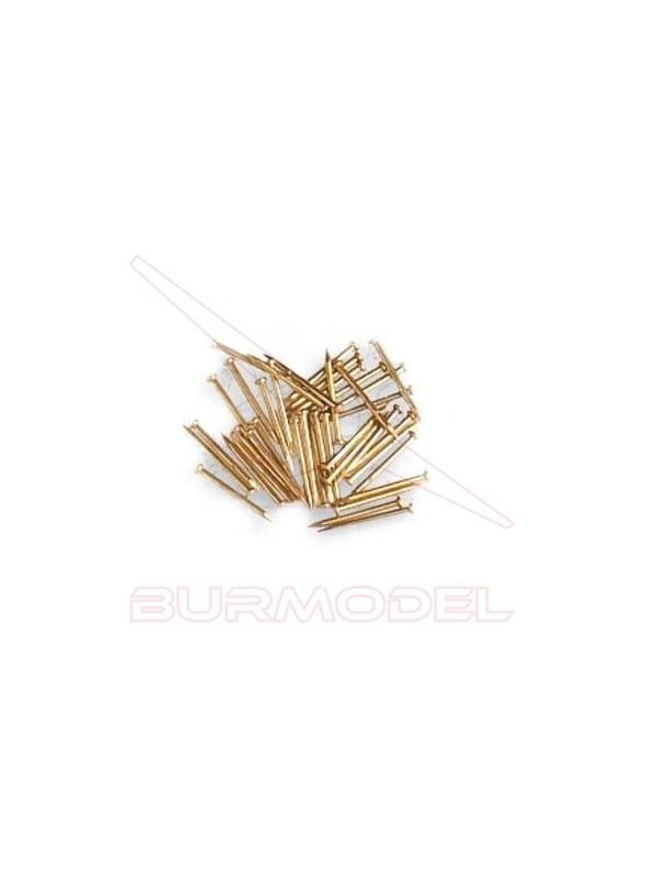 Puntas hierro latonado 5mm (300 unidades)