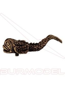 Soporte peana (forma de pez) horizontal (1 unidad)