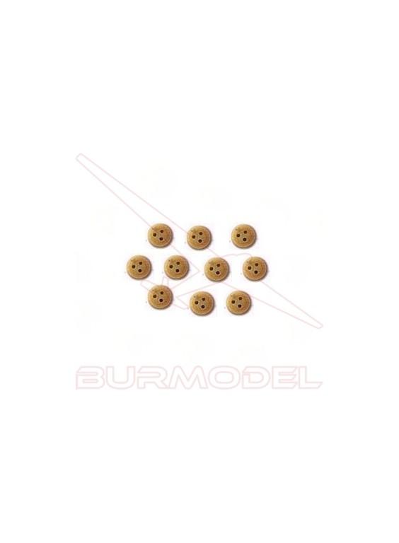 Vigota de boj 4 mm (18 unidades)