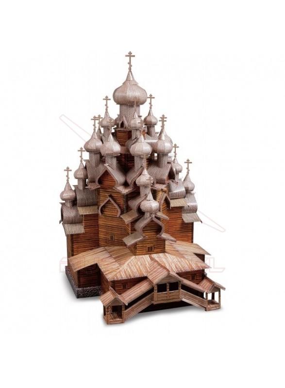 Maqueta papel Iglesia de la Transfiguración ( Rusia)