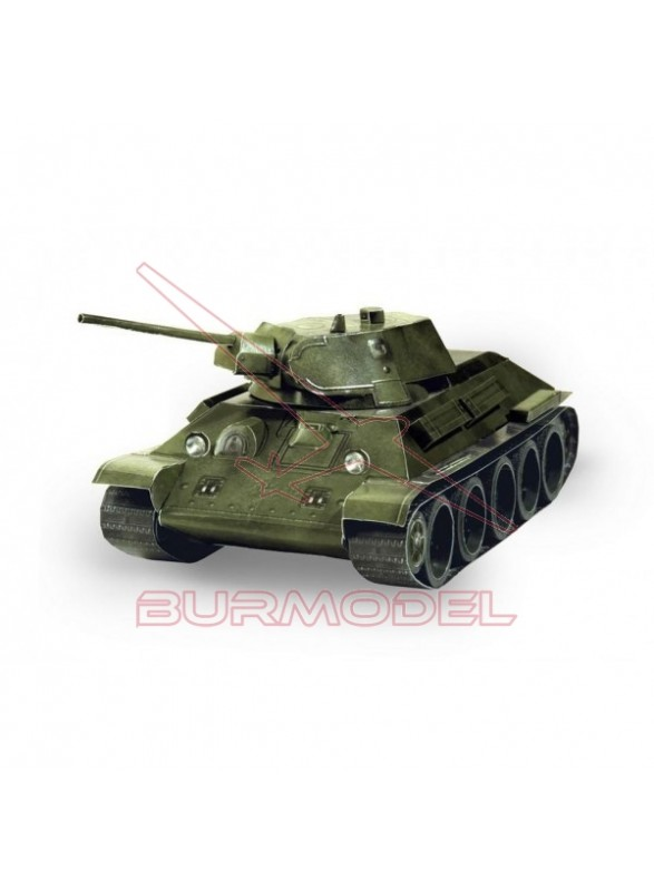 Maqueta papel Tank T-34 (URSS) 1:35