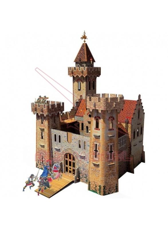 Maqueta papel Castillo medieval