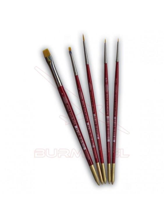 Pincel marta roja Ref.375 nº 4