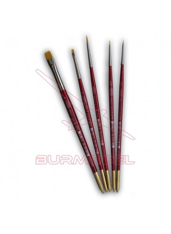 Pincel marta roja Ref.375 nº 5