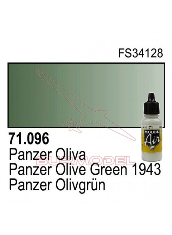 Pintura Vallejo Panzer oliva 096