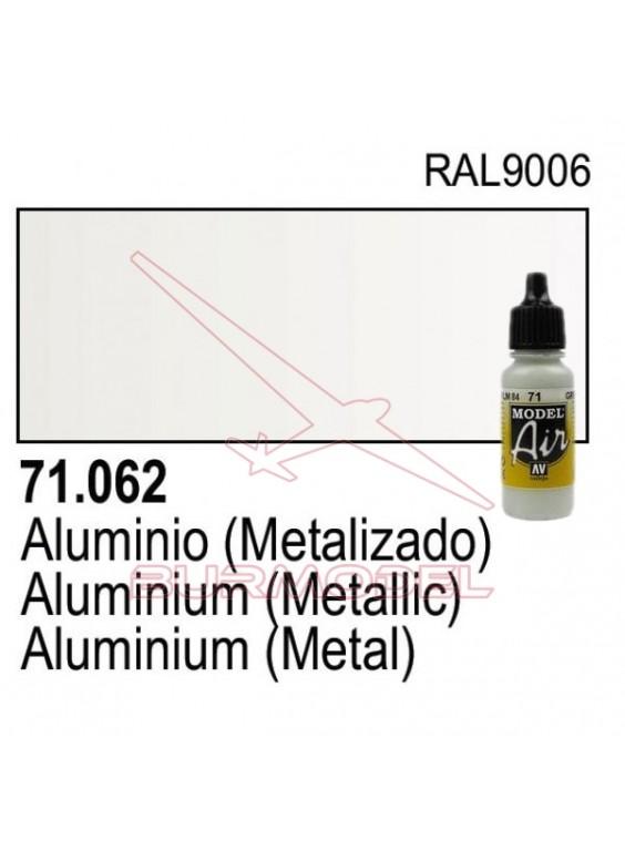 Pintura Vallejo Aluminio 062