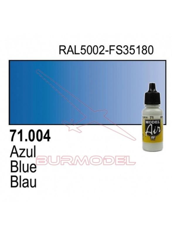 Pintura Vallejo Azul 004