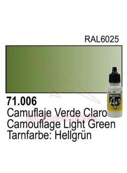Pintura Vallejo Verde claro cromo 006