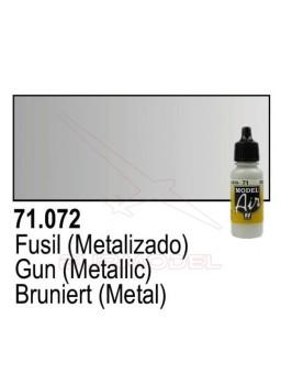 Pintura Vallejo Fusil metálico 072