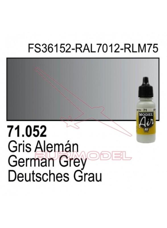 Pintura Vallejo Gris Alemán 052