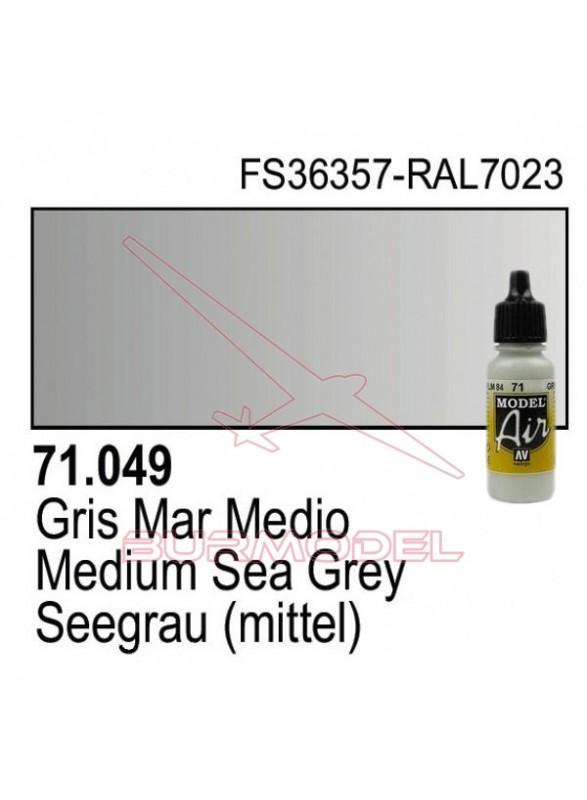 Pintura Vallejo Gris mar medio 049