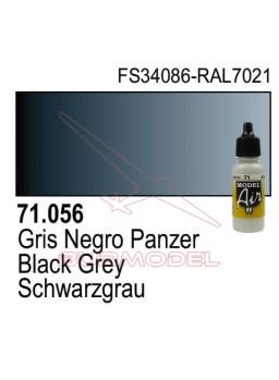 Pintura Vallejo Gris Negro Panzer 056