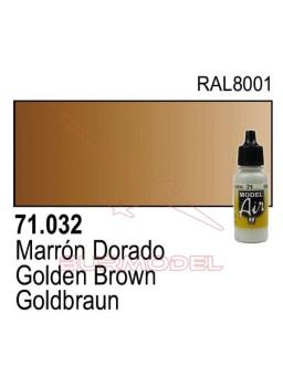 Pintura Vallejo Marrón dorado 032