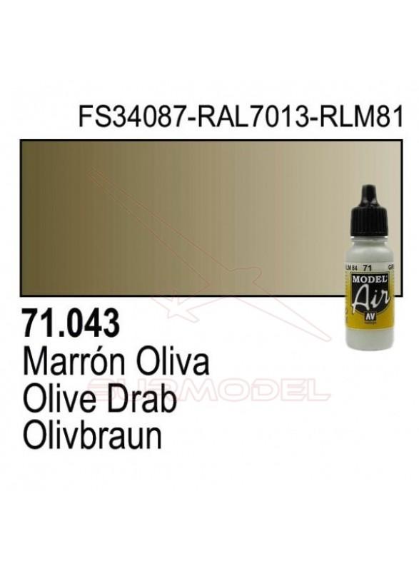Pintura Vallejo Marrón oliva 043