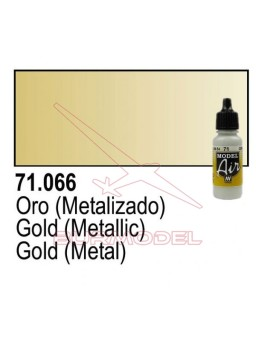 Pintura Vallejo Oro 066