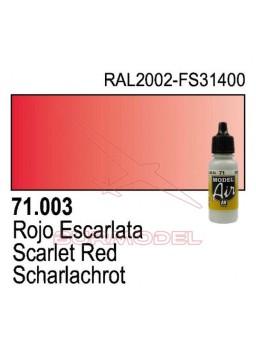 Pintura Vallejo RLM23 Rot 003