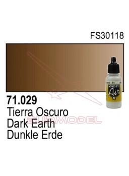 Pintura Vallejo Tierra oscuro 029