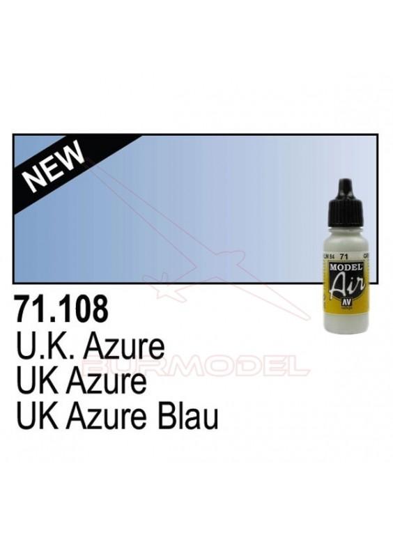 Pintura Vallejo UK Azure 108