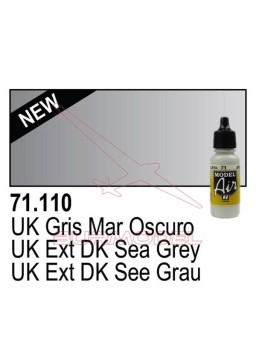 Pintura Vallejo UK Gris mar oscuro 110