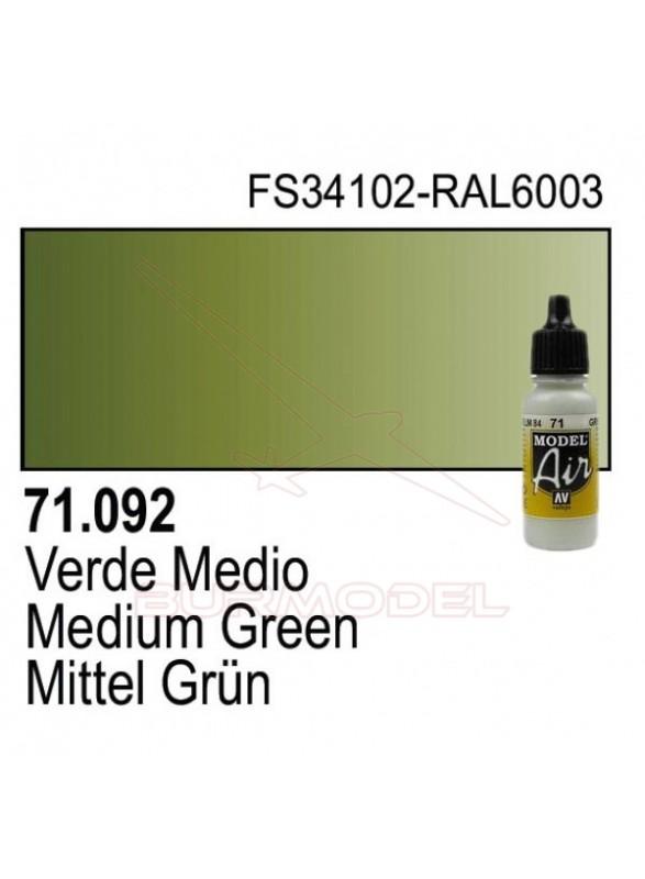 Pintura Vallejo Verde medio 092