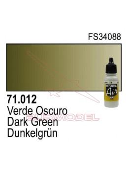 Pintura Vallejo Verde oscuro 012