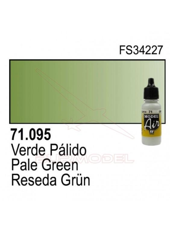 Pintura Vallejo Verde pálido 095