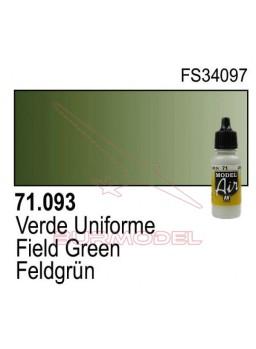 Pintura Vallejo Verde uniforme 093