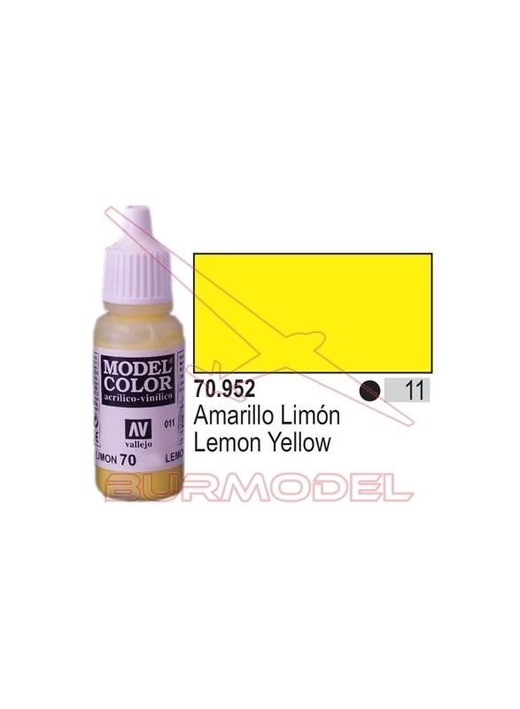 Pintura Amarillo limón 952 Model Color (011)