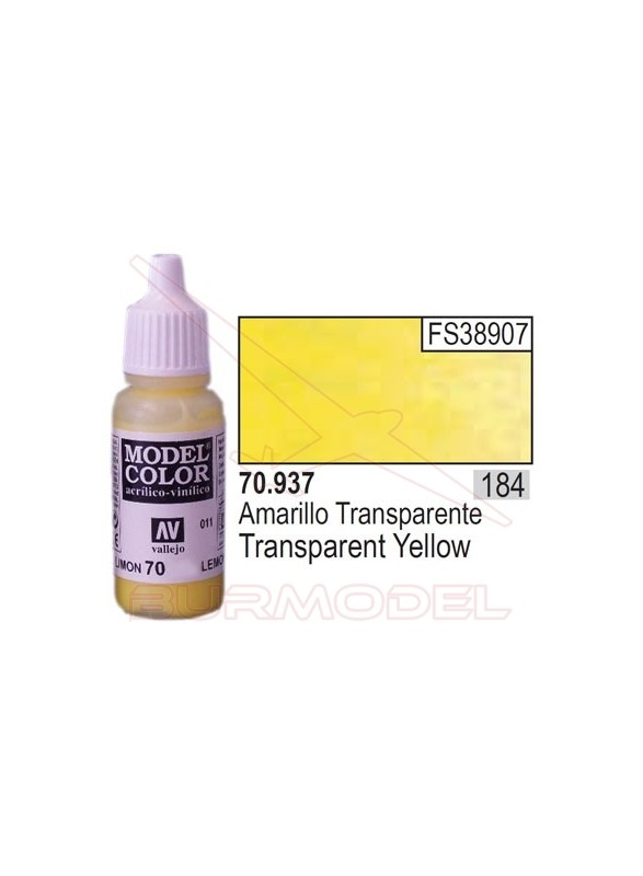 Pintura Amarillo transp. 937 Model Color (184)