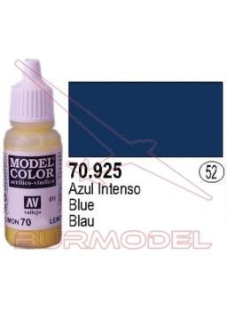 Pintura azul intenso 925 Model color (052)