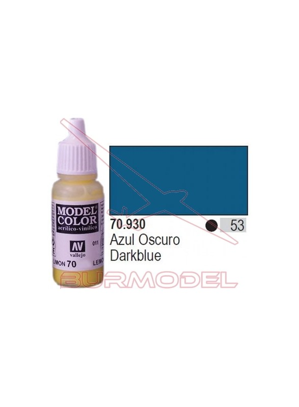 Pintura Azul oscuro 930 Model Color (053)