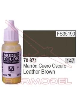 Pintura marrón cuero 871 Model Color (147)