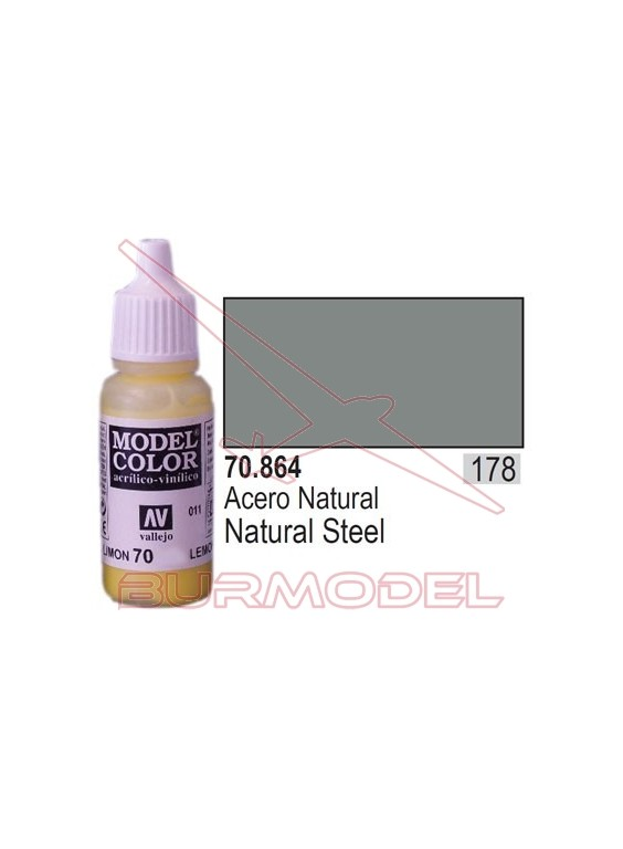 Pintura Acero natural 864 Model Color (178)