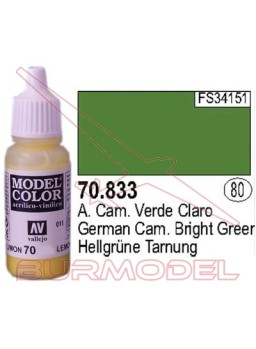 Pintura Verde claro ale. c. 833 Model Color (080)