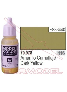 Pintura Amarillo camuflaje 978 Model Color (116)
