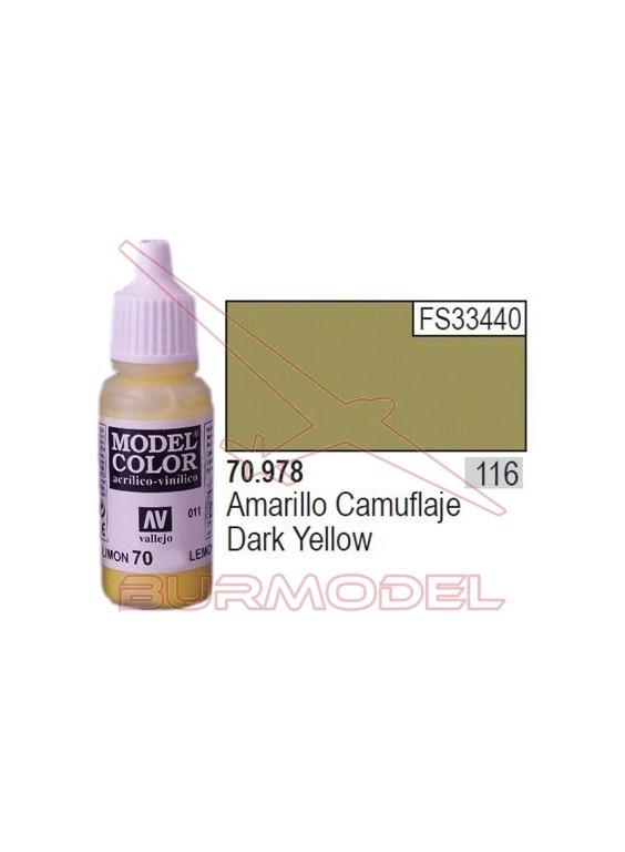 Pintura Amarillo camuflaje 978 Model Color (116)