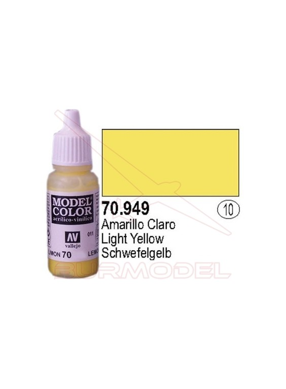 Pintura amarillo claro (010) Model Color