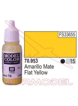 Pintura Amarillo mate 953 Model Color (015)