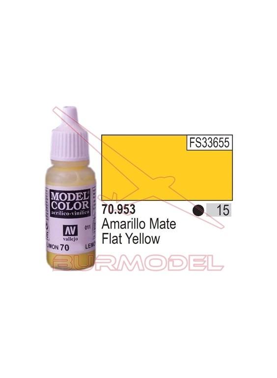Pintura Amarillo mate 953 Model Color (015)